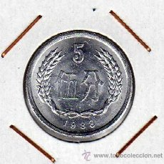 Monedas antiguas de Asia: CHINA : 5 FEN 1988 SIN CIRCULAR . Lote 44486961