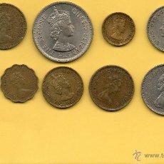 Monedas antiguas de Asia: MM LOTE 9 MONEDAS HONG KONG. DIVERSOS AÑOS. VER FOTOGRAFIAS.. Lote 44657408