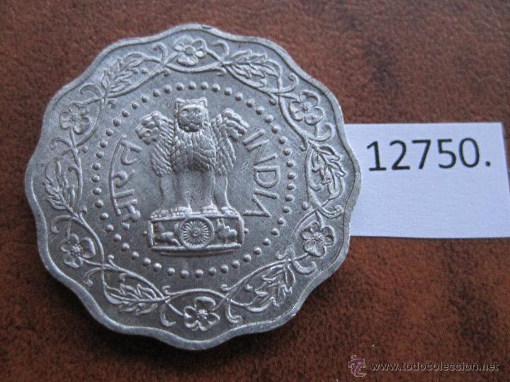 INDIA REPUBLICA, 10 PAISA 1972 (Numismática - Extranjeras - Asia)