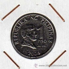 Monedas antiguas de Asia: FILIPINAS : 1 PISO 2004 SIN CIRCULAR . Lote 44691090