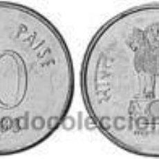 Monedas antiguas de Asia: INDIA 10 PAISA 1989 KM 40.1. Lote 295274908