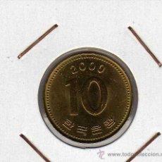 Monedas antiguas de Asia: COREA DEL SUR : 10 WON 2000 SIN CIRCULAR . Lote 44773979