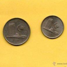Monedas antiguas de Asia: MM. 2 MONEDAS MALASIA. MALAYSIA. 5 Y 10 CÉNTIMOS. SEN. VER FOTOGRAFIAS.. Lote 44813737