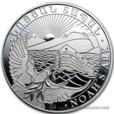 Monedas antiguas de Asia: ARMENIA 2014. ONZA DE PLATA DEL ARCA DE NOE.. Lote 45191105