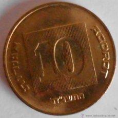 Monedas antiguas de Asia: 10 AGOROT ISRAEL. Lote 45320016