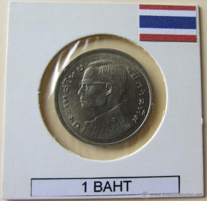 TAILANDIA 1 BAHT 1977. KM. Y110 (Numismática - Extranjeras - Asia)