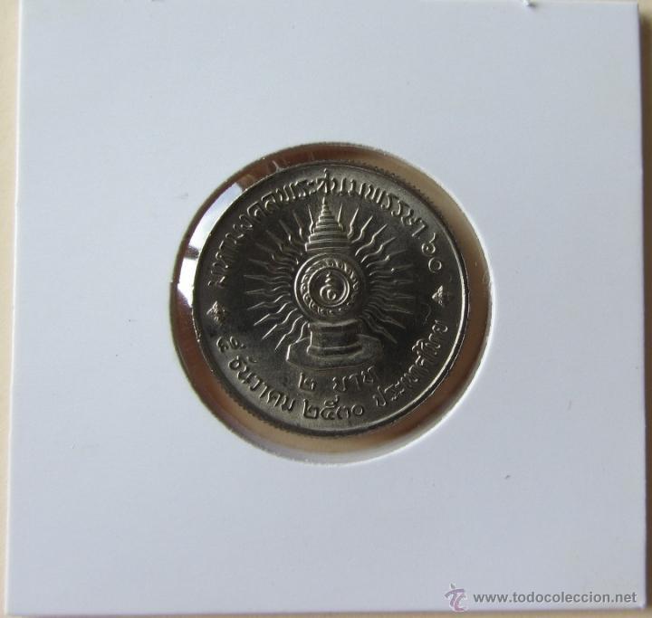 TAILANDIA 2 BAHT 1987. KM. Y194 (Numismática - Extranjeras - Asia)