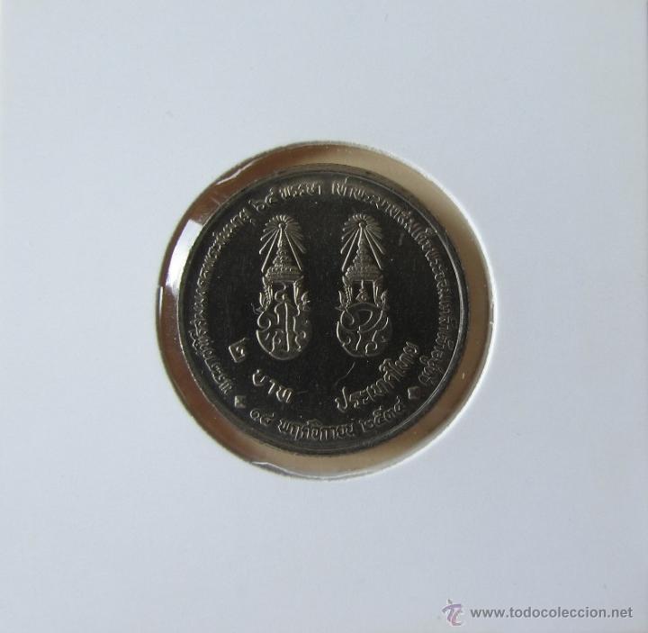 TAILANDIA 2 BAHT 1992. KM. Y272 (Numismática - Extranjeras - Asia)