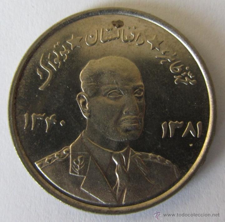 AFGANISTAN 5 AFGHANIS 1961 KM 955 (Numismática - Extranjeras - Asia)