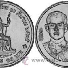 Monedas antiguas de Asia: THAILANDIA / TAILANDIA 10 BAHT 1992 Y 285 50 AÑOS BANCO NACIONAL DE TAILANDIA. Lote 214070192