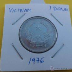 Monedas antiguas de Asia: VIETNAM 1 DONG 1976. Lote 47292260