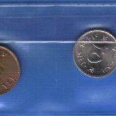 Monedas antiguas de Asia: OMAN TIRA DE MONEDAS SIN CIRCULAR- ESCUDO DE ARMAS. Lote 48715186