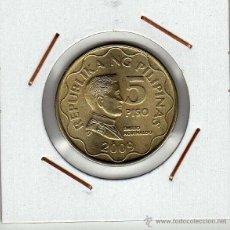 Monedas antiguas de Asia: FILIPINAS : 5 PISO 2009 SIN CIRCULAR . Lote 48724823