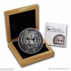 Monedas antiguas de Asia: MONGOLIA 2015. 1 ONZA DE PLATA DEL HAMSTER CAMPBELL´S. 500 TOGROG. Lote 49144193