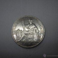 Monedas antiguas de Asia: 1 PIASTRA DE PLATA DE 1913. INDOCHINA FRANCESA. Lote 49620359