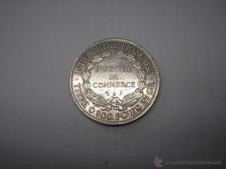 Monedas antiguas de Asia: 1 PIASTRA DE PLATA DE 1913. INDOCHINA FRANCESA - Foto 2 - 49620359