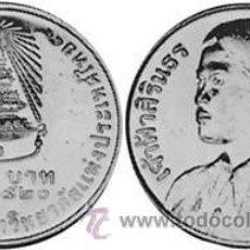 Monedas antiguas de Asia: TAILANDIA / THAILANDIA 10 BAHT 1977 Y115 GRADUATION SIRINDHORN. Lote 191122927