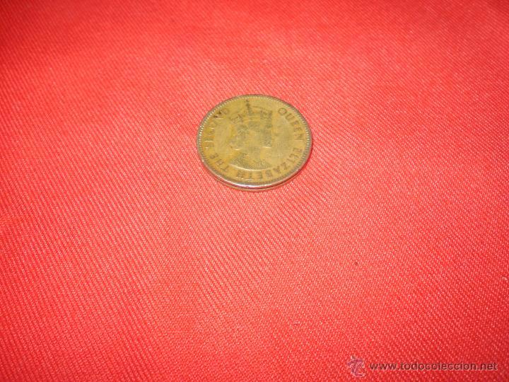 1 MONEDA THE SECOND QUEEN ELISABETH (Numismática - Extranjeras - Asia)