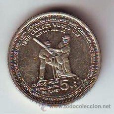Monedas antiguas de Asia: SRI LANKA MUY DIFICIL 5 RUPIAS AÑO 1999.MBC+-VF.VER FOTO ADICIONAL.(831). Lote 51824998