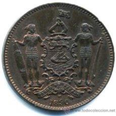 Monedas antiguas de Asia: BORNEO, 1 CÉNTIMO DE 1890. SIN CIRCULAR. Lote 52775804