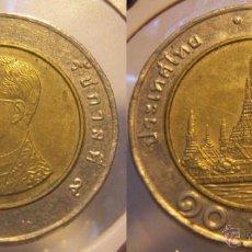 Monedas antiguas de Asia: TAILANDIA 10 BAHT BIMETALICA. Lote 114229975