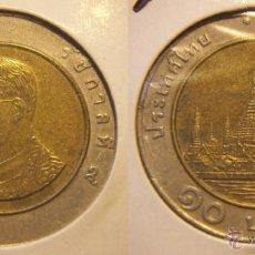 Monedas antiguas de Asia: TAILANDIA 10 BAHT BIMETALICA. Lote 53048608