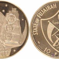 Monedas antiguas de Asia: FUJAIRAH 10 RIYAL 1970. Lote 53323268