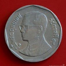 Monedas antiguas de Asia: 5 BATH TAILANDIA 1988-2008. Lote 54049427
