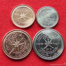 Monnaies anciennes d'Asie: OMAN SERIE 5 10 25 50 BAISA 2015 UNC. Lote 231892770