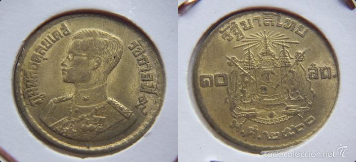Moneda De Tailandia 12 Baht Año 1950 Comprar Monedas Antiguas De