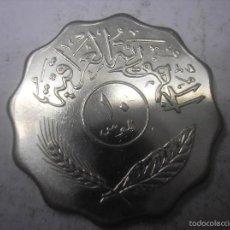 Monedas antiguas de Asia: IRAQ, 10 FILS DE METAL DE 1981. Lote 57159577