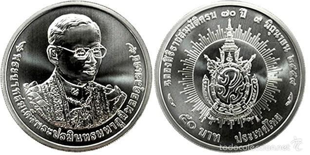 Tailandia Thailandia 50 Baht 2016 70 Años De Comprar Monedas