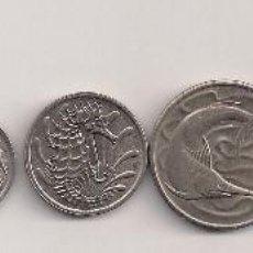 Monedas antiguas de Asia: SINGAPUR - LOTE 7 MONEDAS KMS DIFERENTES 1969-1981. Lote 60878587