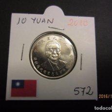Monedas antiguas de Asia: TAIWAN 10 YUAN 2010 KM572 SC. Lote 62091496