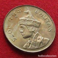Monedas antiguas de Asia: BHUTÁN 1 NGULTRUM 1975 BUTAN. Lote 63685987