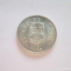 Monedas antiguas de Asia: INDIA PORTUGESA * 1/2 RUPIA 1936 * PLATA. Lote 64341087