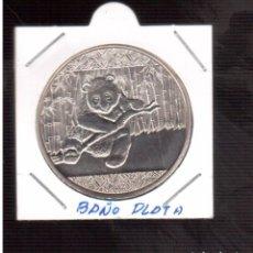 Monedas antiguas de Asia: MONEDA CHINA DE PLATA PARECE UN BAÑO . Lote 64702819