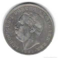 Monedas antiguas de Asia: MONEDA. INDIA PORTUGUESA. 1 RUPIA. 1881.. Lote 69824061