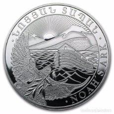 Monedas antiguas de Asia: ARMENIA 2012. ONZA DE PLATA ARCA DE NOE. Lote 76663667