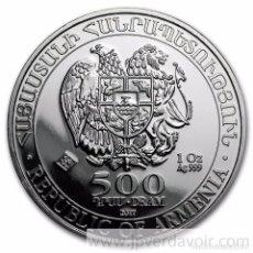Monedas antiguas de Asia: ARMENIA 2017. ONZA DE PLATA ARCA DE NOE. Lote 76663895