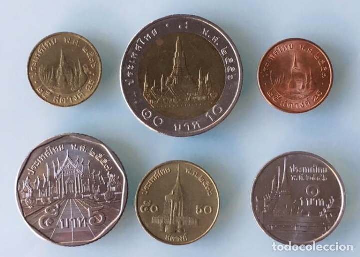 Tailandia Lote De 5 Monedas 10 5 1 12 1 Verkauft Durch