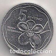 Monedas antiguas de Asia: FILIPINAS - 5 CÉNTIMOS 1991 - KM#239 - FLORA. Lote 80956656