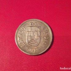Monedas antiguas de Asia: RUPIA ÍNDIA PORTUGUESA 1935 PLATA. Lote 86546114