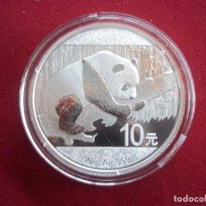 Monedas antiguas de Asia: 10 YUAN PANDA CHINA 2016 PLATA PURA 999. Lote 92102385