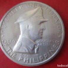 Monedas antiguas de Asia: FILIPINAS. UN PESO DE PLATA.1947 S. Lote 93080145