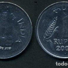 Monedas antiguas de Asia: REPUBLICA INDIA 1 RUPIA AÑO 2003 ( LEONES ANTROPOMORFOS ) Nº1. Lote 93633520