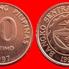 Monedas antiguas de Asia: 10 SENTIMO 1997 SIN CIRCULAR FILIPINAS 0082SC COMPRAS SUPERIORES 40 EUROS ENVIO GRATIS. Lote 95476291