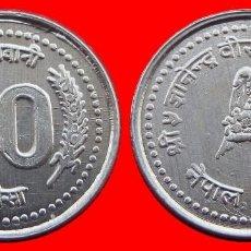 Monedas antiguas de Asia: 10 PAISA 2001 SIN CIRCULAR NEPAL 0214SC COMPRAS SUPERIORES 40 EUROS ENVIO GRATIS. Lote 95581319