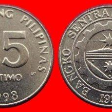 Monedas antiguas de Asia: 25 SENTIMOS 1998 SIN CIRCULAR FILIPINAS 0476SC COMPRAS SUPERIORES 40 EUROS ENVIO GRATIS. Lote 95755943