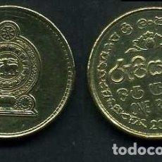 Monedas antiguas de Asia: SRI LANKA - CEILON - 1 RUPIA AÑO 2008 - Nº2. Lote 95784307